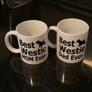 Other - Westie Terrier Dog Mom & Dad Mugs